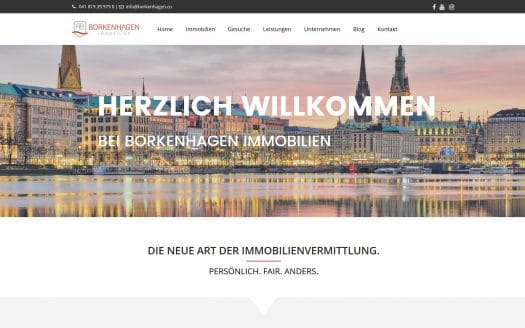 Borkenhagen Immobilien Logo