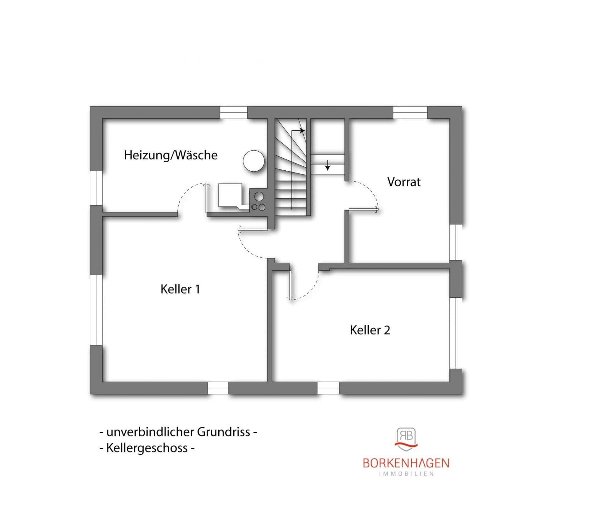 KG - unverbindlicher Grundriss -
